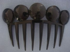 Auguste Bonaz Hair Comb - 1930s in the Victorian Style (Sold)